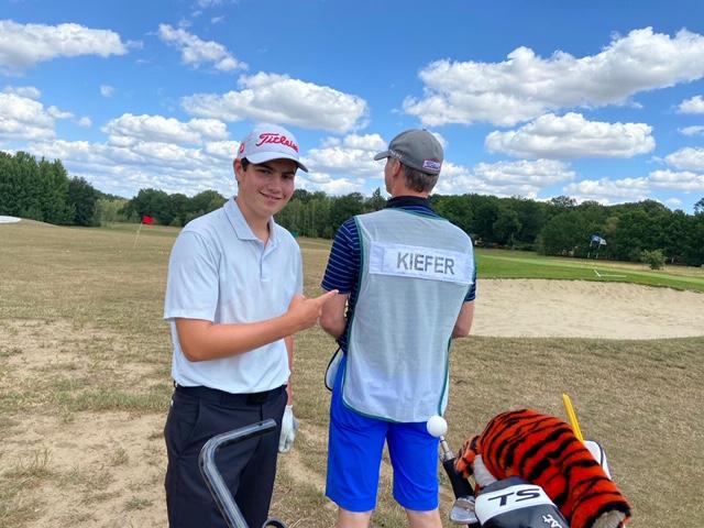 Golfjugend auf (internationaler) Spur