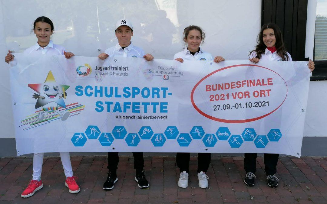 Schulmannschaft des ASG Dillingen 6. beim Bundesfinale
